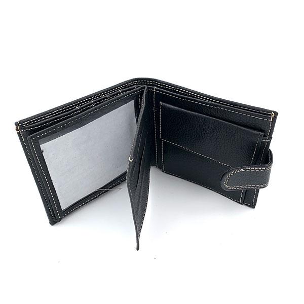 0603 Ανδρικό Πορτοφόλι χρ. Μαύρο