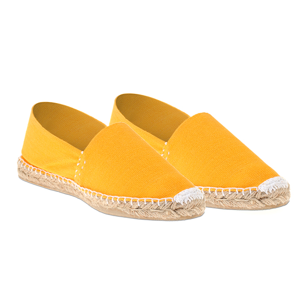 2270 # Μονόχρωμη Γυναικεία Εσπαντρίγια χρ. Κίτρινο (New Collection 2020)