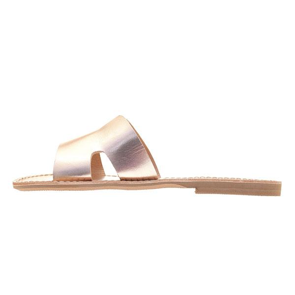 Δερμάτινο Σανδάλι Άθως χρ. Pink Gold (New Collection 2019)