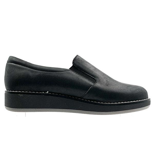 265 - Loafers από Συνθετικό Δέρμα χρ. Μαύρο (Χειμώνας 2020 - 2021)