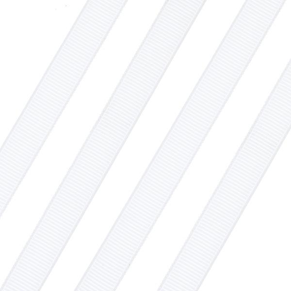 Κορδέλα Γκρο 9mm. χρ. Άσπρο # 05 (Νέα Παραλαβή)