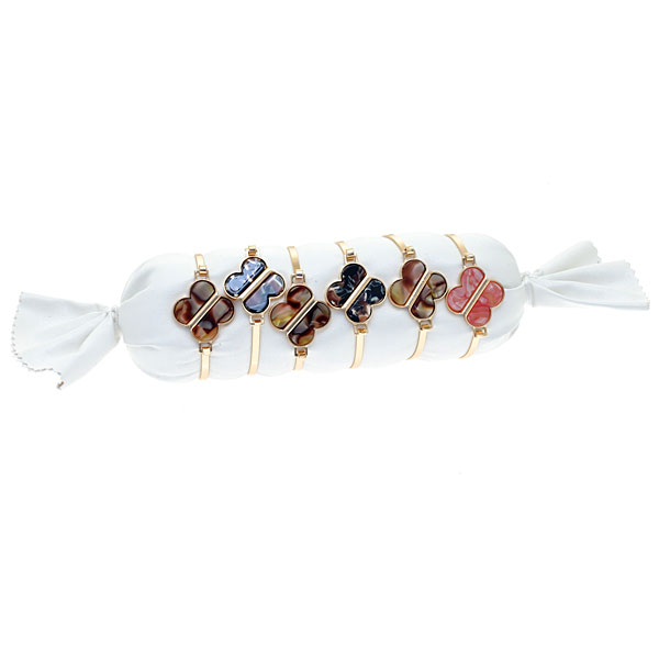 Βραχιόλι Μεταλλικό σχέδιο Πεταλούδα # 04