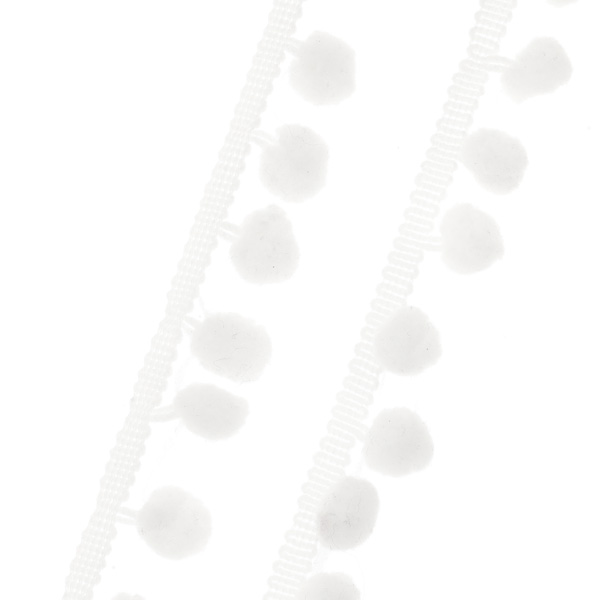 Πομ Πομ με το Μέτρο χρ. Λευκό
