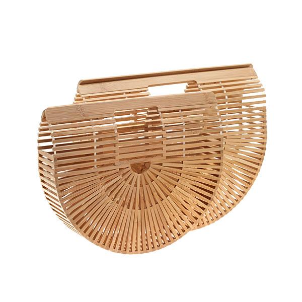 Jh 006 # Τσάντα από Bamboo χρ. Φυσικό