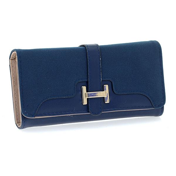 Art 002 Πορτοφόλι με Διακοσμητικό Η χρ. Μπλε