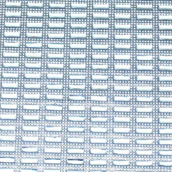 D 509 Φύλλο Στρας χρ. Crystal (2.8 εκατοστά)