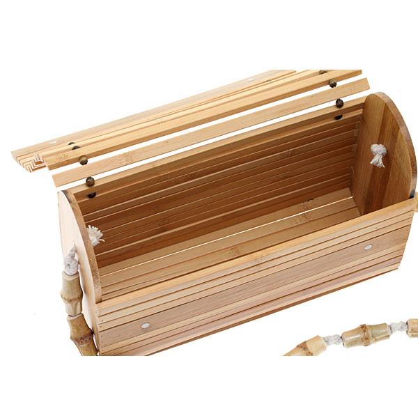 5720 # Τσάντα από Bamboo χρ. Φυσικό
