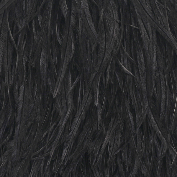 D 177 Τρέσσα με Φτερά Περίπου 15 cm χρ. Μαύρο