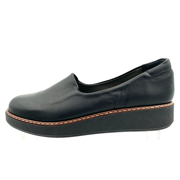 160 - Loafers από Συνθετικό Δέρμα χρ. Μαύρο (Χειμώνας 2020 - 2021)