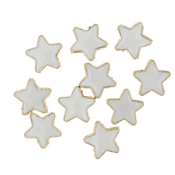Dt 041 Αστέρι από Σμάλτο χρ. Λευκό (Νέα Παραλαβή)