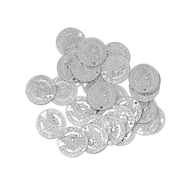 Φλουριά 1.7 Εκατοστών με Τρύπα χρ. Νίκελ