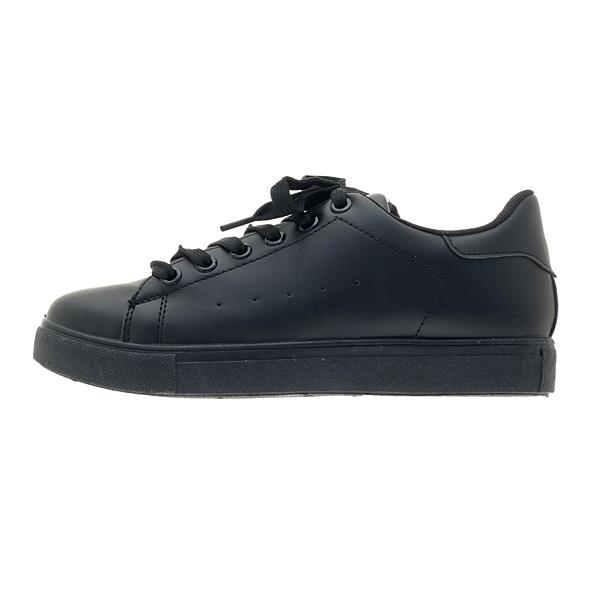 5878 # Sneakers με Κορδόνια χρ. Μαύρο