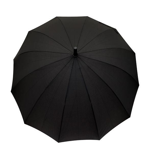 Μεγάλη Ομπρέλα με Χερούλι χρ. Μαύρο