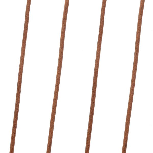 Δερμάτινο Κορδόνι 2 mm χρ. Nude