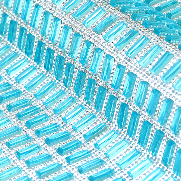 D 509 Φύλλο Στρας χρ. Aquamarine (2.8 εκατοστά)