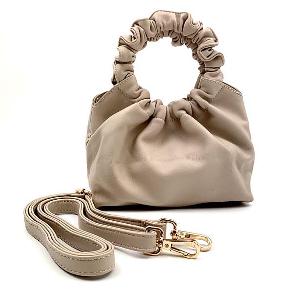 RG 006 - Μικρή Τσάντα Χειρός Pouch χρ. Nude (Χειμώνας 2020 - 2021)