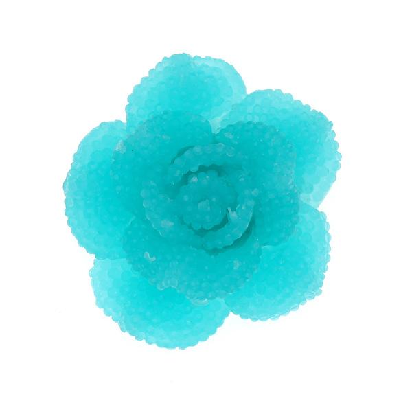 Dt 702 Ακρυλικό Λουλούδι χρ. Τυρκουάζ