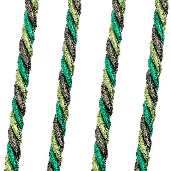 Art 477 3 χρωμο Κορδονέτο Λούρεξ 10 mm χρ. Πράσινο # 15