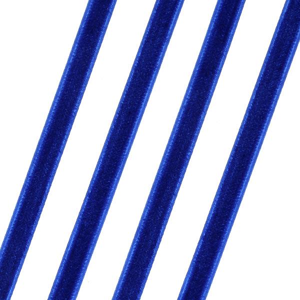Βελούδινη Κορδέλα 6mm. χρ. Μπλε # 175 (Νέα Παραλαβή)