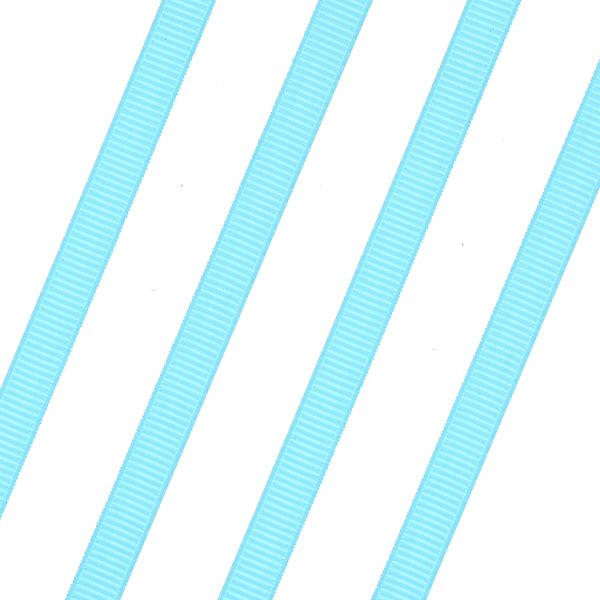 Κορδέλα Γκρο 6mm. χρ. Τυρκουάζ # 67 (Νέα Παραλαβή)