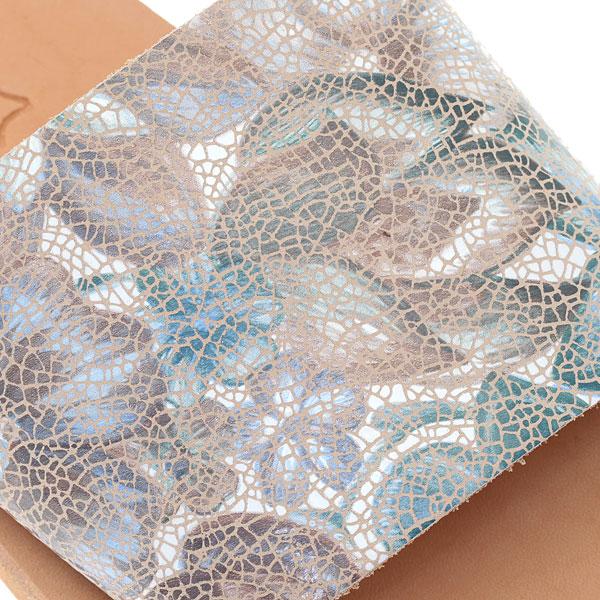Δερμάτινο Σανδάλι Art 3244 χρ. Τυρκουάζ