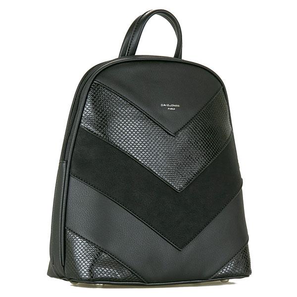 6203-2 Τσάντα Πλάτης David Jones χρ. Μαύρο (Χειμώνας 2020 - 2021)