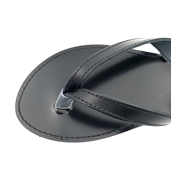 Δερμάτινο Σανδάλι Κρήτη χρ. Μαύρο  (New Collection 2020)