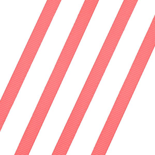 Κορδέλα Γκρο 6mm. χρ. Κοραλί # 39 (Νέα Παραλαβή)
