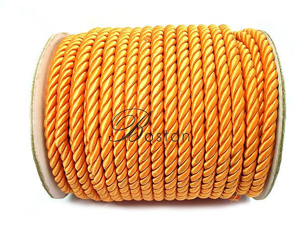Κορδονέτο 3 mm χρ. Πορτοκαλί