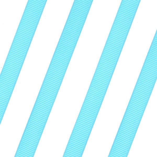 Κορδέλα Γκρο 9mm. χρ. Τυρκουάζ # 67 (Νέα Παραλαβή)