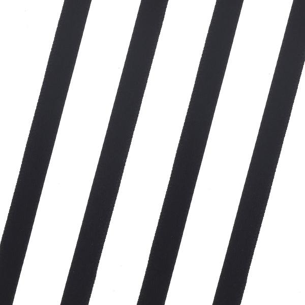 Κορδέλα Σατέν 6mm. χρ. Μαύρο # 06 (Νέα Παραλαβή)
