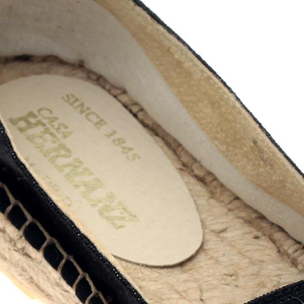 2320 # Ριγέ Δίπατη Γυναικεία Εσπαντρίγια χρ. Μπεζ / Ασημί