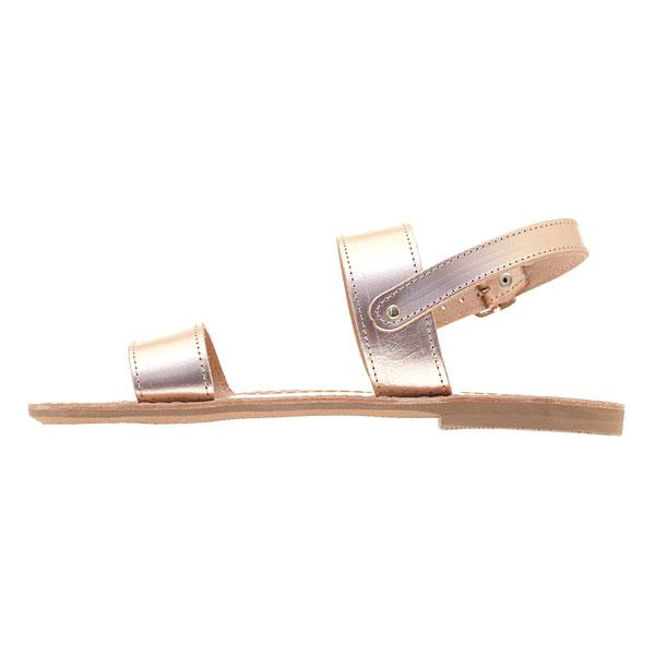 Δερμάτινο Σανδάλι Σέριφος χρ. Pink Gold (New Collection 2019)