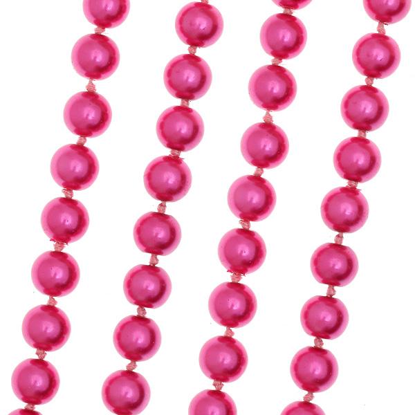 Ακρυλικές Πέρλες 8 mm χρ. Φούξια Σορμπέ