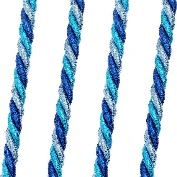 Art 477 3 χρωμο Κορδονέτο Λούρεξ 10 mm χρ. Μπλε # 14
