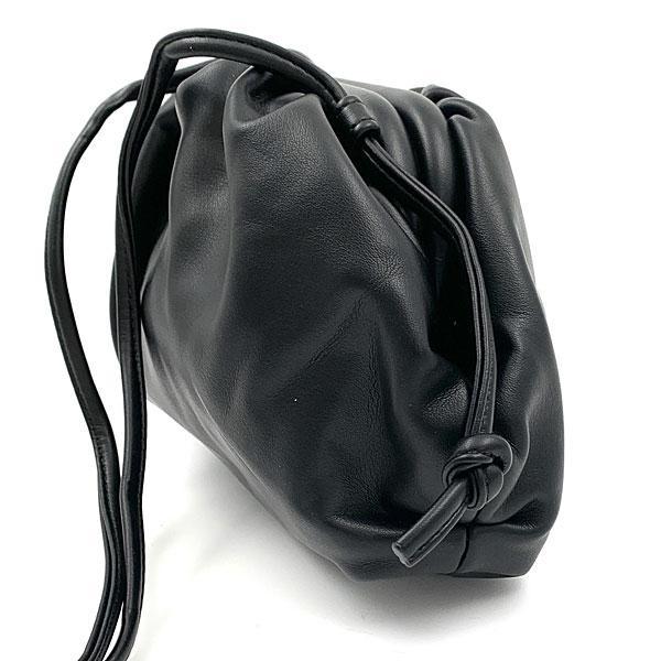 YJ 052 -  Μικρή Τσάντα Χειρός Pouch χρ. Μαύρο (Χειμώνας 2020 - 2021)